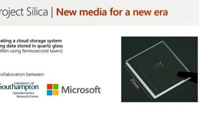 Project Silica Microsoft